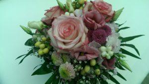 Blumen zur Hochzeit als Brautstrauss