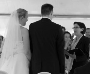A secular wedding ceremony with Jutta Hamm